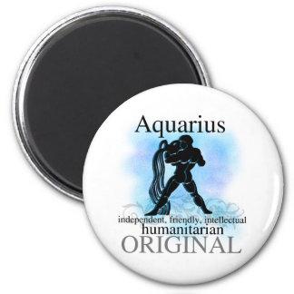 Aquarius About You 6 Cm Round Magnet