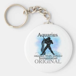 Aquarius About You Basic Round Button Key Ring