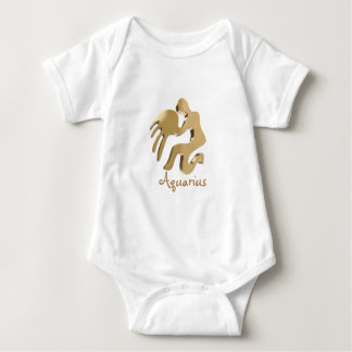 Aquarius acquario baby bodysuit