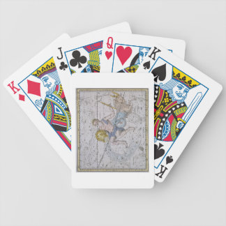 Aquarius and Capricorn, from 'A Celestial Atlas', Bicycle Playing Cards