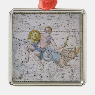 Aquarius and Capricorn, from 'A Celestial Atlas', Christmas Ornament
