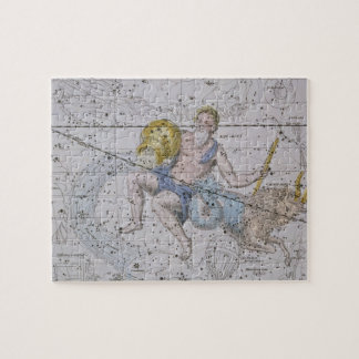Aquarius and Capricorn, from 'A Celestial Atlas', Jigsaw Puzzle