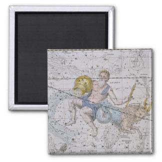 Aquarius and Capricorn, from 'A Celestial Atlas', Magnet