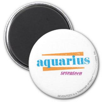 Aquarius Aqua Fridge Magnets