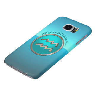 Aquarius Astrological Sign Samsung Galaxy S6 Cases