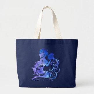 Aquarius Astrology Tote Bag
