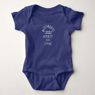Aquarius Baby Bodysuit