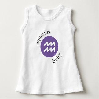 Aquarius Baby Symbol Dress