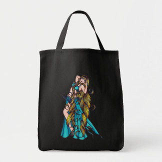 Aquarius Belly Dancer Tote Bag
