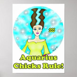 Aquarius Chicks Rule! Poster
