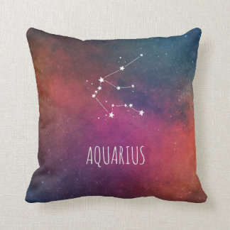 Aquarius Constellation Astrology Cushion