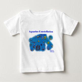 Aquarius Constellation Baby T-Shirt