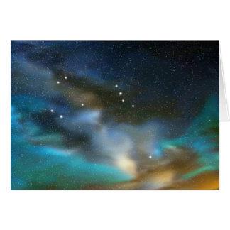 Aquarius Constellation Card