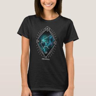 Aquarius Constellation & Zodiac Symbol T-Shirt