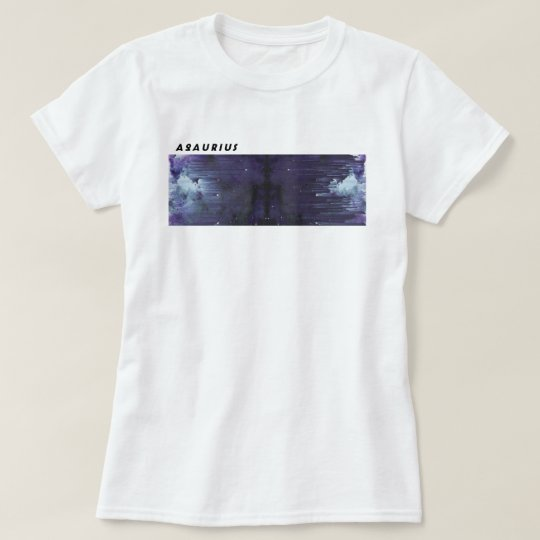 Aquarius Glitch Art T-Shirt