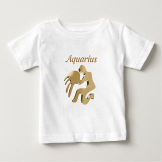Aquarius golden sign baby T-Shirt