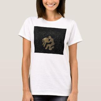 Aquarius golden sign T-Shirt