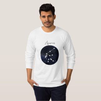 Aquarius horoscope sign, you can customize T-Shirt