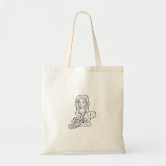 Aquarius Illustration Bag