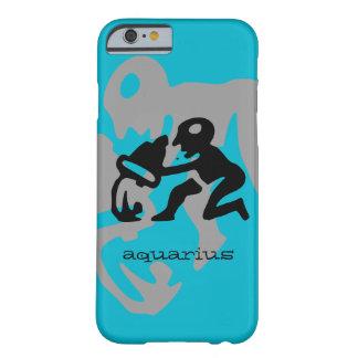 Aquarius in black barely there iPhone 6 case