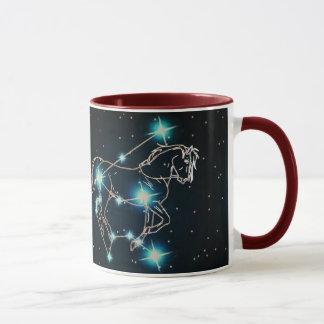 Aquarius in the year of the Horse Mug