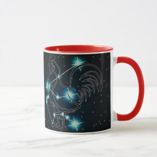 Aquarius in the year of the Rooster Mug