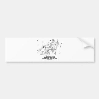 Aquarius (January 20th - February 18th) Bumper Sticker