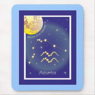 Aquarius January 21 tons of February 18 mouse PADs