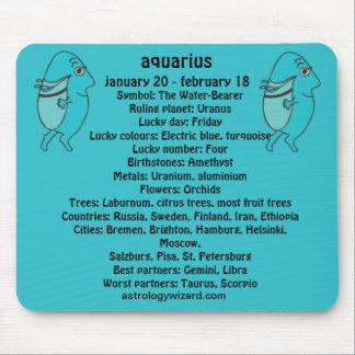 Aquarius  Mousepad Mouse Pad