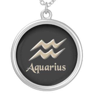 Aquarius Personalized Necklace