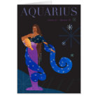 Aquarius Note Card