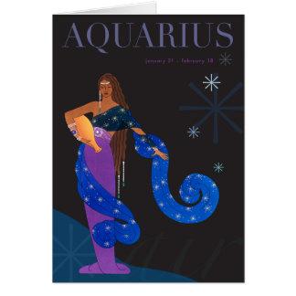 Aquarius Note Note Card