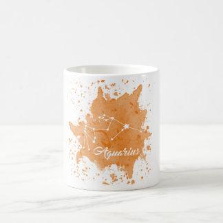 Aquarius Orange Mug