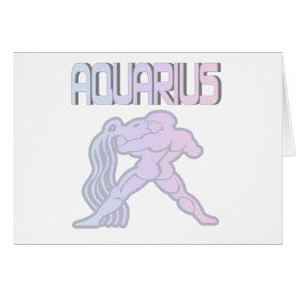 Aquarius Pastels Greeting Card