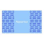 Aquarius Pattern Business Cards