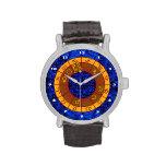 Aquarius Pattern Wrist Watches