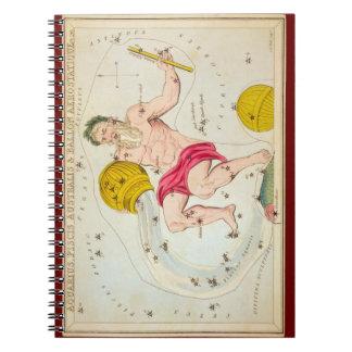 Aquarius, Piscis Australis & Ballon Aerostatique Note Book