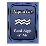 Aquarius postcards