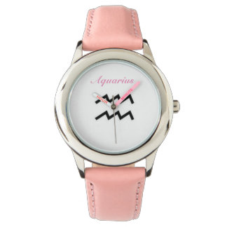 Aquarius Sign of the Zodiac. Childrens Watches