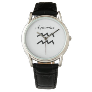 Aquarius Sign of the Zodiac. Mens Watches