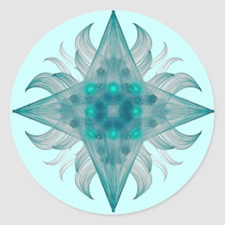 Aquarius Star Sticker