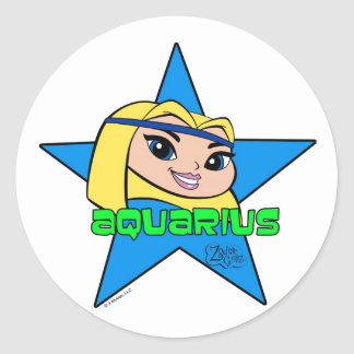Aquarius Stickers