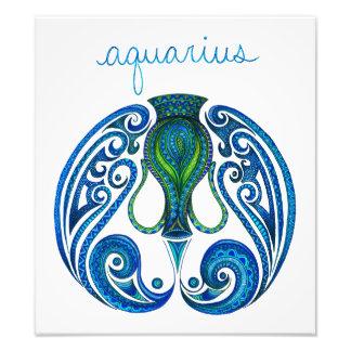 Aquarius Symbol Photograph