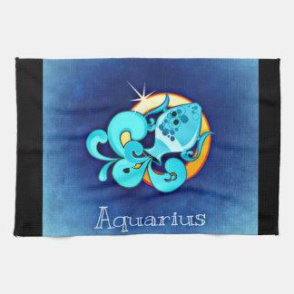 Aquarius Tea Towel