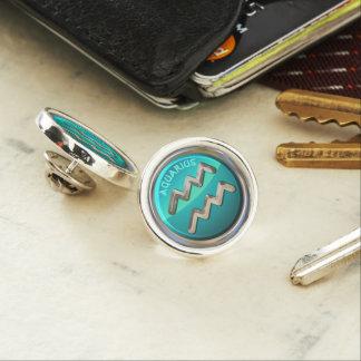 Aquarius - The Water Bearer Astrological Sign Lapel Pin