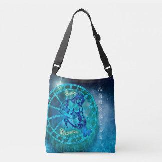 Aquarius the Water Bearer Horoscope Crossbody Bag