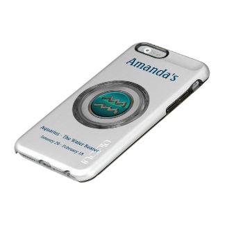 Aquarius - The Water Bearer Zodiac Sign Incipio Feather® Shine iPhone 6 Case
