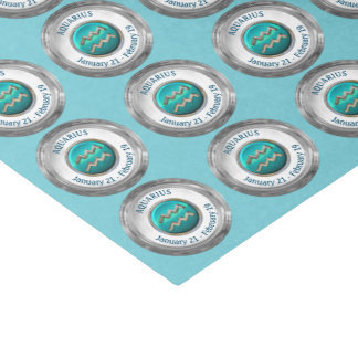 Aquarius - The Water Bearer Zodiac Sign Tissue Paper