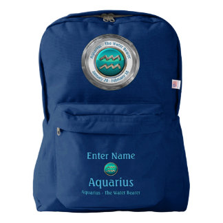Aquarius - The Water Pitcher Horoscope Sign Backpack