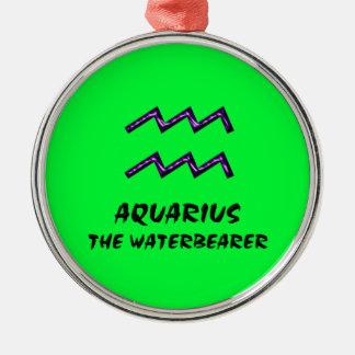 Aquarius the waterbearer ornament